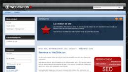 Informations web et référencement – WebZInfos