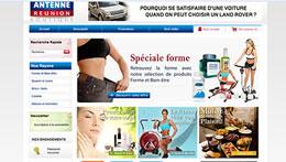 E-boutique tele-achat.antennereunion.fr, des milliers de produits