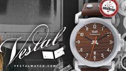 Vestal, les montres uniques