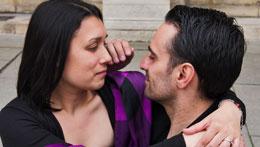 Coralline Lhermitte et Julien Romano dans «Mes nuits à t'attendre»